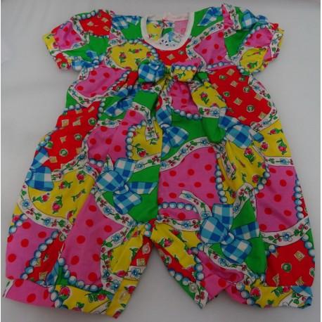 Cotton Baby romper fantasy color