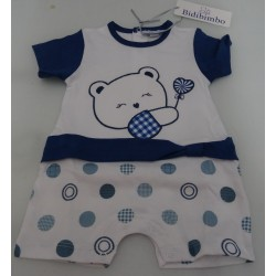 Cotton Baby romper pink color