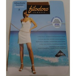 Collant Absolute Summer Filodoro 8 den antiscivolo, invisibile