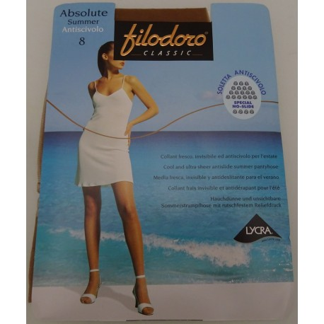 Panty - hose Absolute Summer Filodoro no slyde