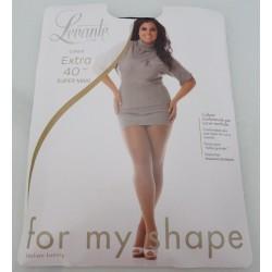 Fuller figure pantyhose 40 den Levante