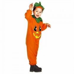 Zucca, costume per halloween e carnevale, taglia 3/4 anni