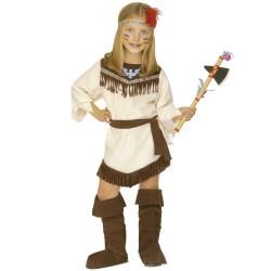 Costume Indiana 3-4 anni