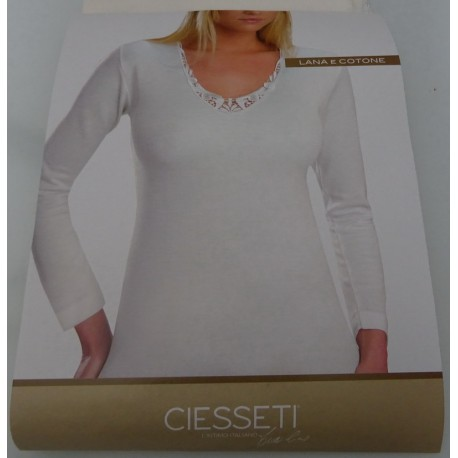 Wool- cotton Cotton Mapom camisole wide shoulder