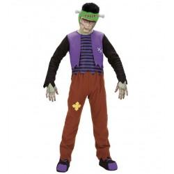 Frankenstein, bambino franken, costume per carnevale e Halloween, taglia 11/13 anni