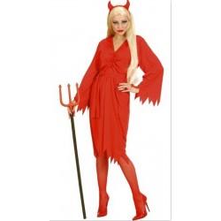 DIAVOLESSA, costume donna per halloween e carnevale