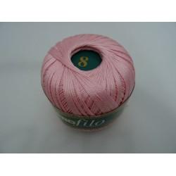 Filo di scozia Profilo: col. 045 rosa n8