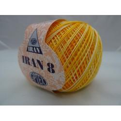 Cotone perlato IRAN n°8, colori sfumati