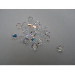 Cristalli Swarovski bicono 4 mm, 50 pezzi