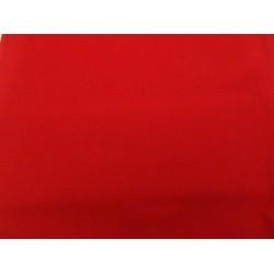 Scampolo di elastan rosso 150x160 cm