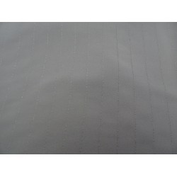 Scampolo di viscosa colore beige gessato 140x160 cm