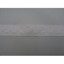 Arricciatenda di cotone, altezza 2,5 cm