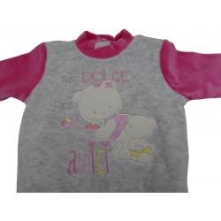 Tutina di ciniglia da neonata Ellepi art. BQ2458