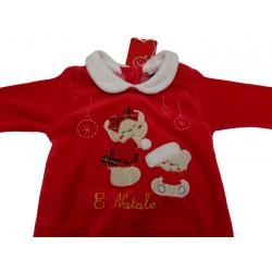 Tutina natalizia da neonata Pastello art. TC30P