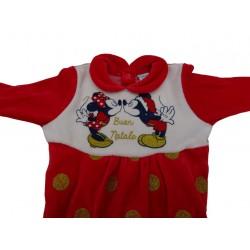 Tutina neonata Buon Natale Disney art. WQ2009
