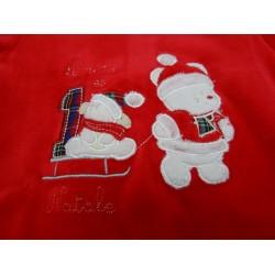 Tutina ciniglia neonato unisex Primo Natale art. TN3664