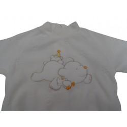 Tutina di ciniglia neonato Ellepi art. BQ2038
