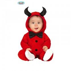 Costume neonato DIAVOLETTO 6-12 mesi