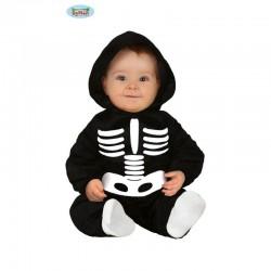 Costume neonato SCHELETRO 12-24 mesi