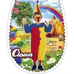 Costume CLOWN taglia 3-4 anni