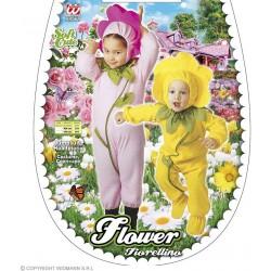 Costume Fiorellino taglia 3-4 anni