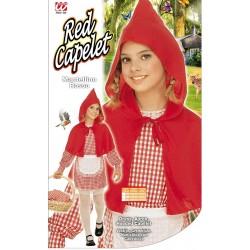 Costume Mantellino Rosso