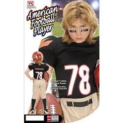 Costume Giocatore Football Americano