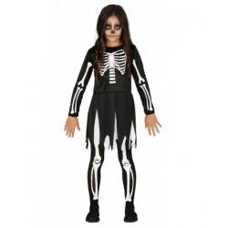 Costume Bambina Scheletro