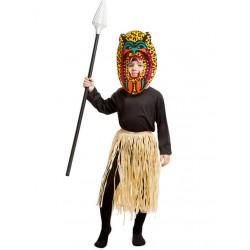 Costume Bambino Zulù - Indigeno