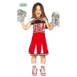 Costume Bambina Cheerleader