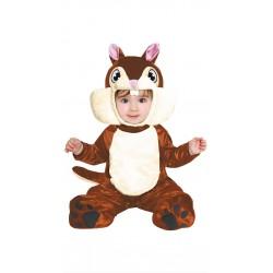 Costume neonato Scoiattolo