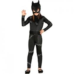Costume Bambina Super Eroina - Gatta Nera