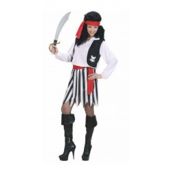 Piratessa, costume donna per carnevale