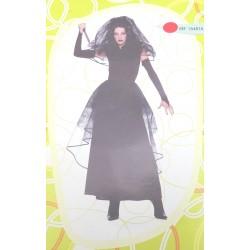 Vedova Assassina, costume donna taglia 44 per halloween e carnevale