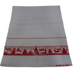 "Kitchen towel ""Cristhmas"" for cross stitch"