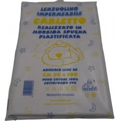Sheet waterproof 50x70 cm.