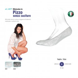 Babette - Minicalze in pizzo senza cuciture Marbet art. 64-P