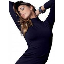 CIOCCA pile woman leggins black s/m