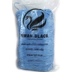 Cordino Swan Black per borse e oggetti creativi cf. 500 g