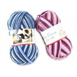 Lana Carezza Color confezione da 400 gr
