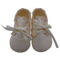 Scarpine neonata avorio