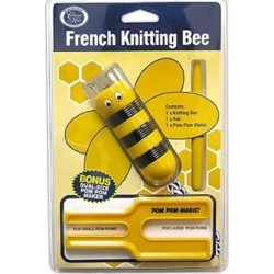 French Knitting Bee - Kit per fare Pompon - Classic Knit