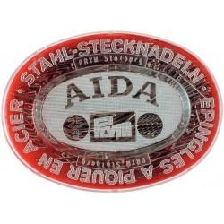 Confezione in blister di spilli AIDA in acciaio inossidabile N.7 – Prym art. 024349